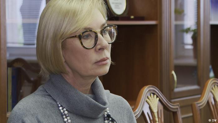 Liudmila Denisova, reprezentanta parlamentului de la Kiev pentru drepturile omului și fost ministru