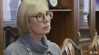Η Λουντμίλα Ντενίσοβα, εντεταλμένη για τα ανθρώπινα δικαιώματα του ουκρανικού κοινοβουλίου
