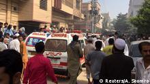 Pakistan Karatschi | Flugzeugabsturz