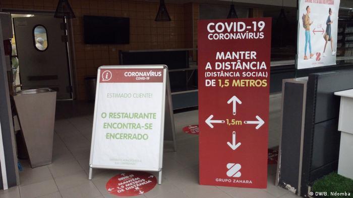 Angola Coronavirus Prävention in Luanda