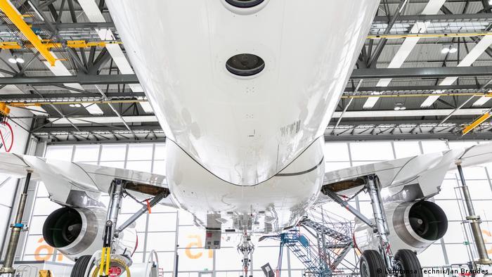 Deutsches Open Skies Flugzeug (Lufthansa Technik/Jan Brandes)