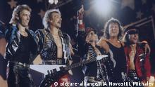 Russland Scorpions 1989