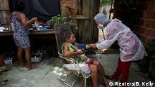 BG: Amazonas - Einheimische Krankenschwester im Kampf gegen Corona