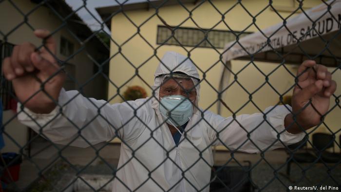 BG: Das ländliche Ecuador steht vor Corona-Ausbruch ohne ärztliche Versorgung (Reuters/V. del Pino)