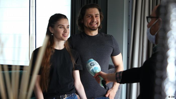 Maria Vinogradova and Ivan Vasiliev