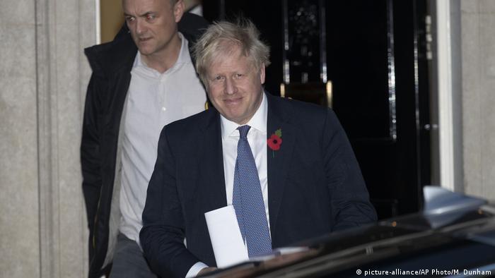 Großbritannien Boris Johnson und Dominic Cummings