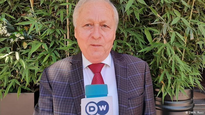 Kristaq Kume Albanien Tirana (DW/A. Ruci)