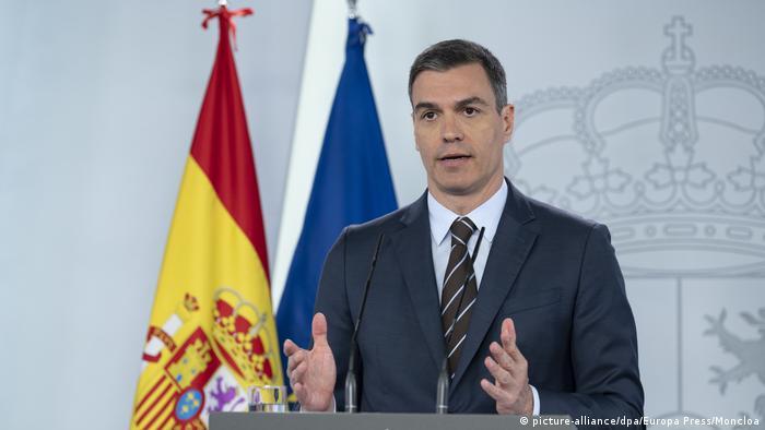 پدرو سانچز، نخستوزیر اسپانیا