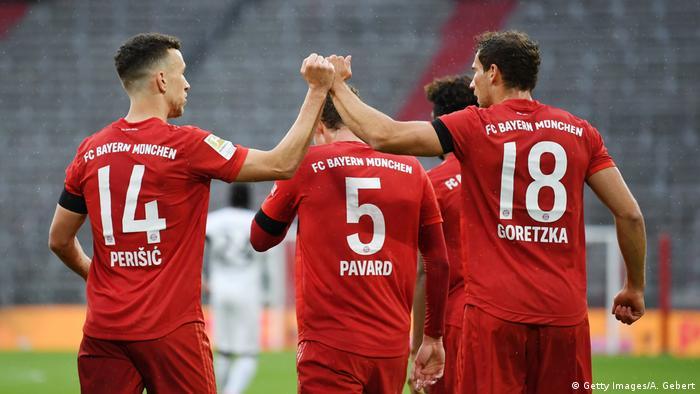 FC Bayern Muenchen v Eintracht Frankfurt - Bundesliga (Getty Images/A. Gebert)