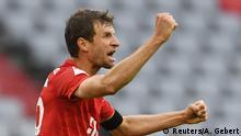 Fußball Bundesliga FC Bayern München v Eintracht Frankfurt - Bundesliga Tor Müller 2:0