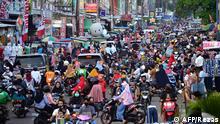 Eid Shopping in Asien Indonesien Bekasi