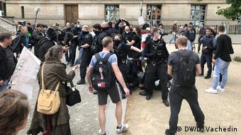 Задержание Аттилы Хильдмана в Берлине