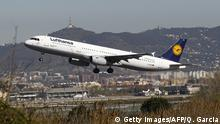 Lufthansa-Maschine (Getty Images/AFP/Q. Garcia)
