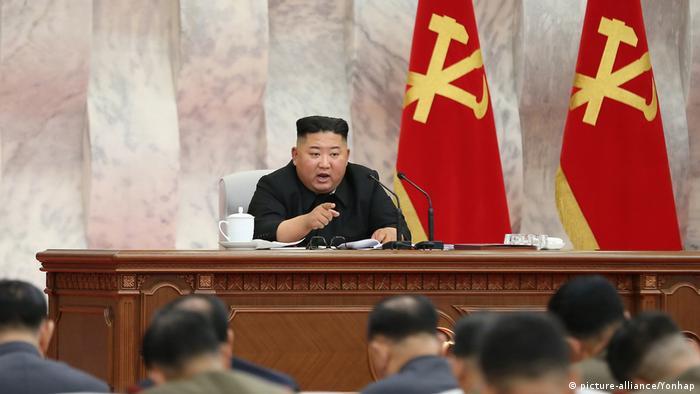 زعيم كوريا الشمالية كيم يونغ أون.