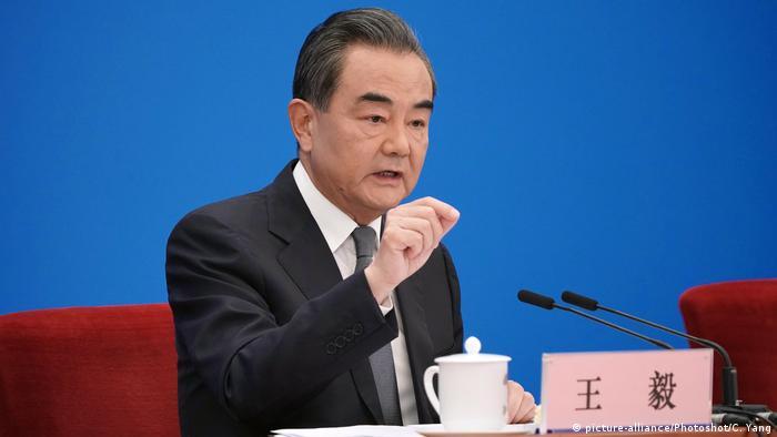 China Außenminister Wang Yi
