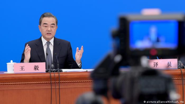 China Außenminister Wang Yi (picture-alliance/Xinhua/L. He)
