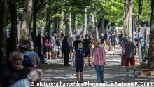 Coronavirus Paris Parks bleiben geschlossen