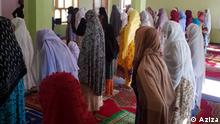 24.05.2020 Afghan women takes part in Eid Al-Fitr prayers in Sare-Pul province of Afghanistan on 24.05.2020