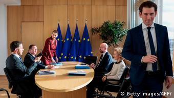 Εξακολουθούν να απορρίπτουν το Ταμείο Ανάκαμψης οι πρωθυπουργοί της Ολλανδίας Μ. Ρούτε, της Σουηδίας Σ. Λεβέν, της Δανίας Μ. Φρέντερικσεν και της Αυστρίας Σ. Κουρτς