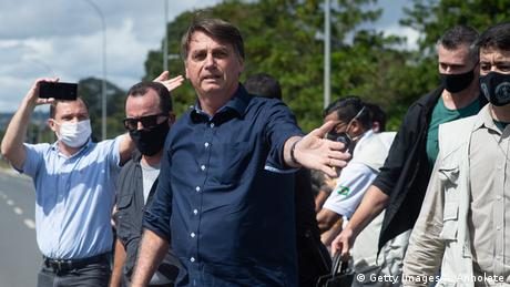 Brasilien Jair Bolsonaro (Getty Images/A. Anholete)