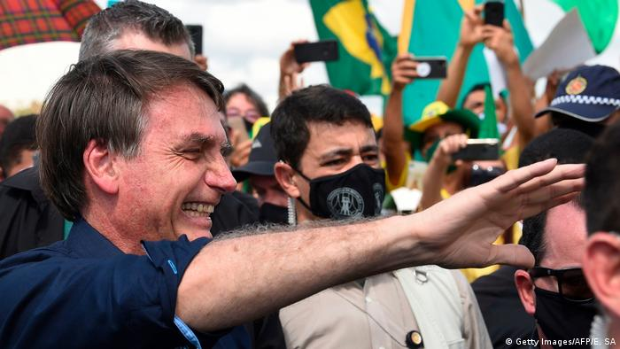 Brasilien Jair Bolsonaro (Getty Images/AFP/E. SA)
