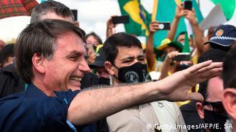 Brasilien Jair Bolsonaro (Getty Images/AFP/E. SA)