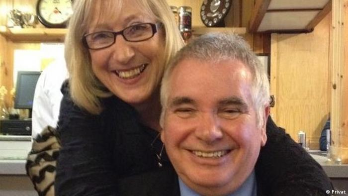 Isobel & Alan Graham, owners of an inn on the Isle of South Uist