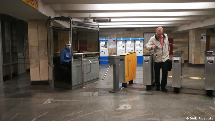 Київський метрополітен - перший день після карантину