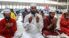 Bangladesch Eid Muslime im Gebet