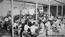Türkei Tabakkonsum Samsun Fabrik