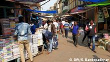 College Street before the Amphan Description: The normal scene in College Street Keywords: College Street; Book Market; Amphan; Water logging; Who is in the picture: Street scene When was it taken: May 2020 Where was it taken: Kolkata, India