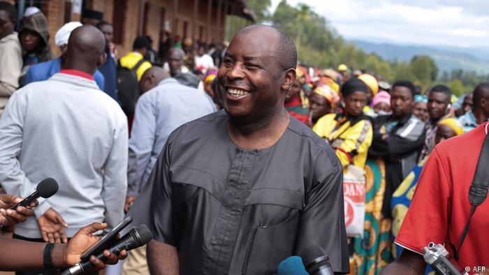 Evariste Ndayishimiye, Presidente eleito do Burundi