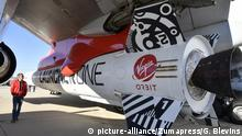 Virgin Orbit Girl performed its first-ever drop test today Wednesday Mojave CA. July 10,2019. The releasing a LauncherOne rocket from its Boeing 747 carrier plane over California's Mojave Desert. photo by Gene Blevins/ZumaPress (Credit Image: © Gene Blevins/ZUMA Wire |