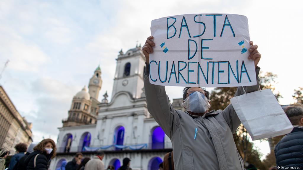 Coronavirus: Argentina y la eterna cuarentena | Las noticias y análisis más  importantes en América Latina | DW | 25.08.2020