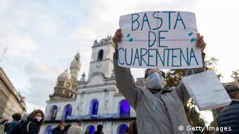 Argentinien | Protest gegen Quarantäne in Buenos Aires (Getty Images )