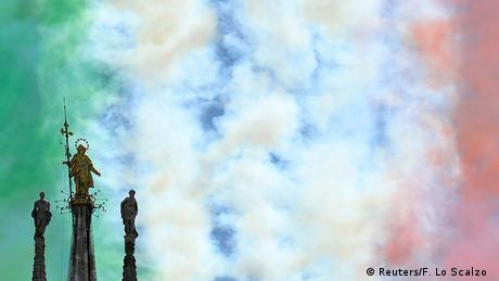 BdTD Italien Coronavirus | Frecce Tricolori (Reuters/F. Lo Scalzo )