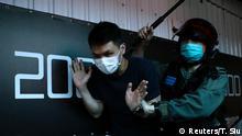 Hongkong Proteste Polizei Polizeigewalt