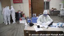 Indien Coronavirus Guwahati Medical College Hospital