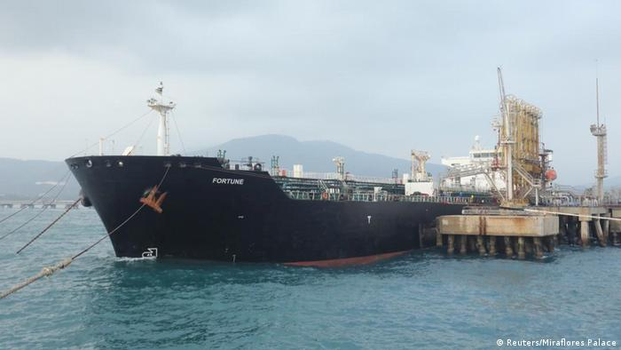 Venezuela Ankunft des iranischen Öltankers Fortune