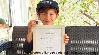 صبي اسرائيلي عثر على رقيم طيني جنوب البلاد