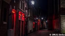 Niederlande Coronavirus Rotlichtmilieu in Amsterdam