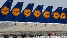 Lufthansa streicht Rumpf-Flugplan noch weiter zusammen