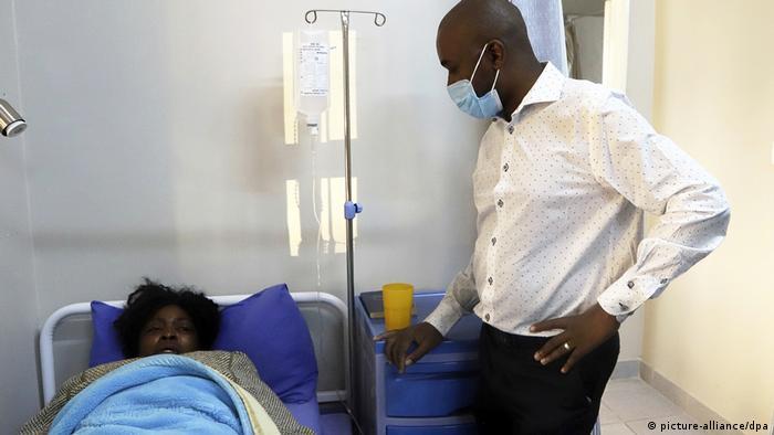 Coronavirus Simbabwe Afrika Krankenhaus