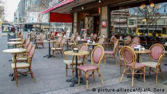 Кафе в центре Берлина