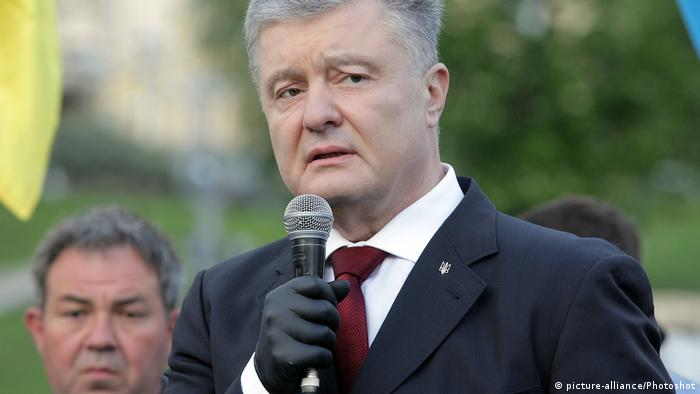 Ukraine, Kiew: Petro Poroshenko (picture-alliance/Photoshot)