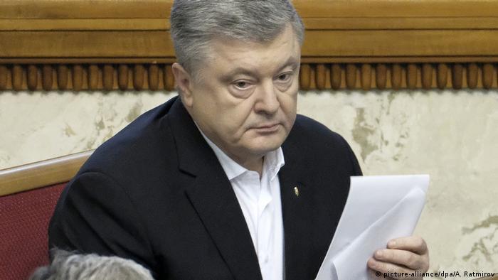 Офіс генпрокурора повідомив, що підозрює Петра Порошенка у схилянні голови розвідки до перевищення повноважень