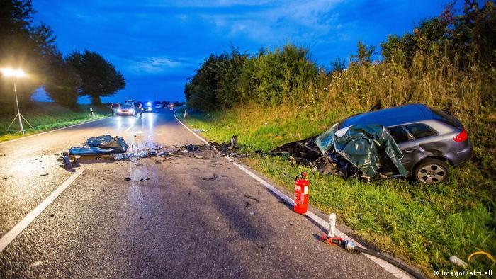 Автомобилна катастрофа в Германия