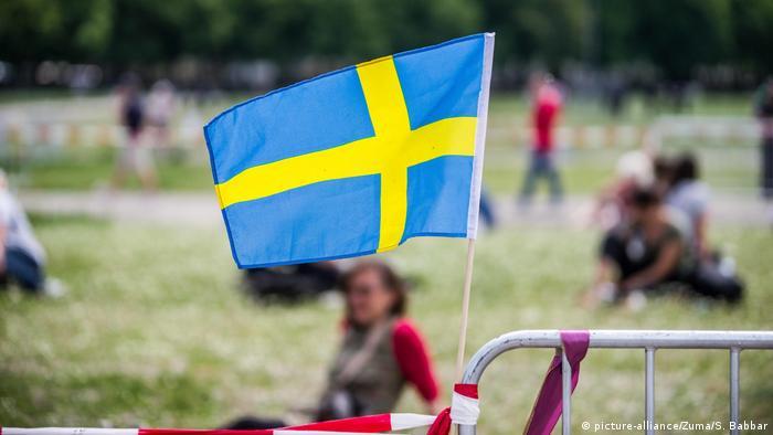 Schwedische Fahne (picture-alliance/Zuma/S. Babbar)