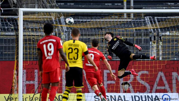 Bundesliga Borussia Dortmund v FC Bayern München Kimmich Tor (AFP/F. Gambarini)