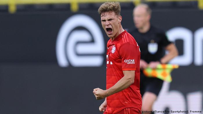 Deutschland Bundesliga | Borussia Dortmund - FC Bayern München Kimmich BVB,Borussia Dortmund - FC Bayern M?nchen, (picture-alliance/firo Sportphoto/J. Fromme)